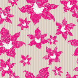Grunge seamless  pattern Stock Photography