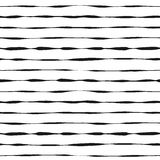 Grunge seamless pattern of stripes Stock Photos