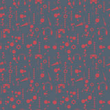 Grunge seamless pattern. Vector. Grunge seamless pattern. Dark background. Vector illustration Stock Images