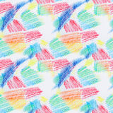 Grunge seamless texture of pastel strokes. Crayons seamless abstract grunge background. Design element. Hand drawing pattern. Pencil design elements Stock Photo