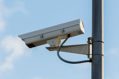 Grunge security camera Royalty Free Stock Photo