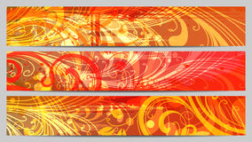 Grunge Separated banners Stock Images