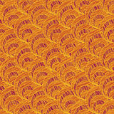 Grunge shell pattern. Based on Traditional Japanese Embroidery. Stock Photo