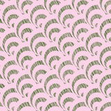 Grunge shell pattern. Based on Traditional Japanese Embroidery. Stock Photography