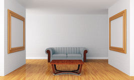 Grunge Show Room Stock Images