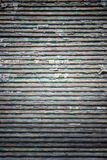 Grunge Shutters Wood Texture With Peeling Paint Stock Photography
