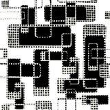 Grunge siatki abstrakcjonistyczna ilustracja Zdjęcie Royalty Free