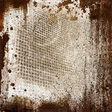 Grunge sieve background stock illustration
