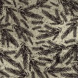 Grunge silver christmas background with black alder twigs, vect. Or illustration stock illustration