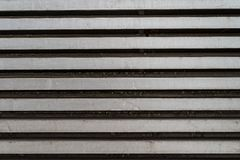 Grunge silver grey metal horizontal lines - high quality texture / background royalty free stock photography