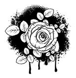 Grunge Rose Design Royalty Free Stock Photo