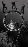 grunge skejter tła Obraz Royalty Free