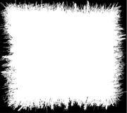 Grunge skrobanin rama ilustracji