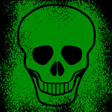Grunge Skull Stock Images