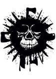 Grunge skull Royalty Free Stock Photos