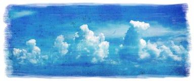 Grunge sky background Stock Photo