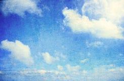 Grunge skyscape background Royalty Free Stock Photo