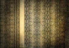 Grunge snakeskin background Stock Image