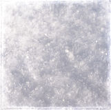 Grunge snow texture. Grunge texture of snow on the ground Stock Image