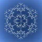 grunge snowflacke Στοκ εικόνες με δικαίωμα ελεύθερης χρήσης