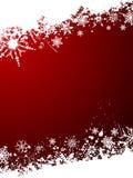 Grunge snowflake background Stock Photography
