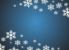 Grunge snowflake background Stock Photo