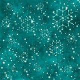Grunge snowflakes Stock Photos