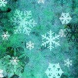Grunge snowflakes Royalty Free Stock Photos