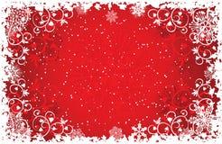 Grunge Snowflakes Background, Vector Stock Photos