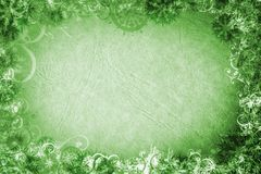 Grunge snowflakes paper Stock Photography
