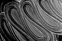 Grunge soap texture black and white. Distress black and white rough foam trace unusual background. Noise dirty rectangle grunge foam texture. Dirty artistic Royalty Free Stock Images