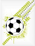 Grunge Soccer Ball Royalty Free Stock Image