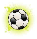 Grunge Soccer Ball Royalty Free Stock Images