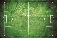Grunge Soccer Field Royalty Free Stock Image
