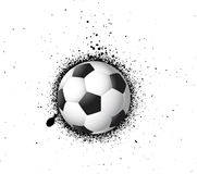 Grunge soccer Football Royalty Free Stock Photo