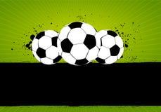 Grunge Soccer Football Royalty Free Stock Photo