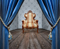 Grunge sofa Stock Photo