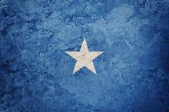 Grunge Somalia flag. Somalia flag with grunge texture. Grunge flag Royalty Free Stock Image