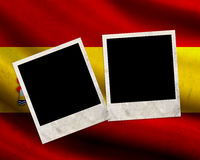 Grunge Spain flag Royalty Free Stock Image