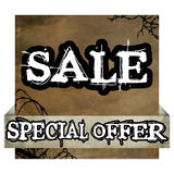 Grunge special offer and sale poster Royalty Free Stock Photography