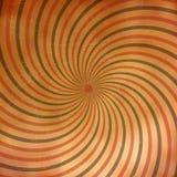 Grunge Spiral Burst Background Stock Photography