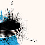 Grunge splash design Royalty Free Stock Images