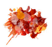 Grunge splashes colorful background Royalty Free Stock Photo