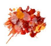 Grunge splashes colorful background. Grunge colorful splashes on white background Royalty Free Illustration