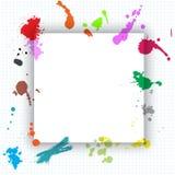 Grunge splat background Stock Image