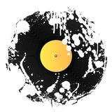 Grunge splat vinyl Stock Images
