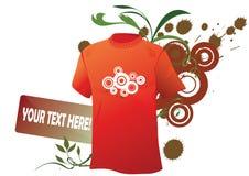 Grunge sport shirt Stock Image