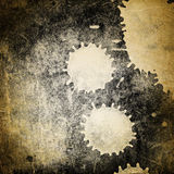 Grunge spotted texture detail stock image