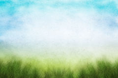 Grunge Spring Field Royalty Free Stock Photos