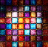 Grunge square background Stock Photography